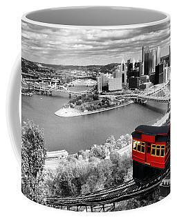 Pittsburgh From The Incline Coffee Mug