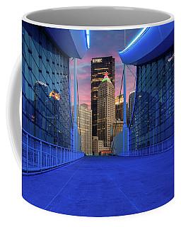 Pittsburgh In Blue  Coffee Mug