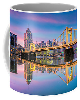 Pittsburgh North Shore Reflections  1 Coffee Mug