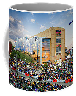 Coffee Mug featuring the photograph Pittsburgh Penguins Stanley Cup Champs 2016 by Emmanuel Panagiotakis