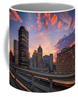 Coffee Mug featuring the photograph Pittsburgh Skyline  60 by Emmanuel Panagiotakis