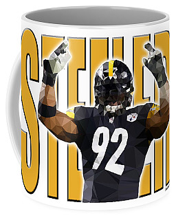 Coffee Mug featuring the digital art Pittsburgh Steelers by Stephen Younts