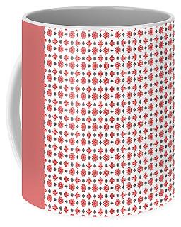 Pixel Christmas Pattern Coffee Mug