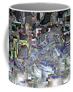 Pixel Crash Coffee Mug