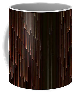 Coffee Mug featuring the painting Pixel Sort Art by Sheila Mcdonald