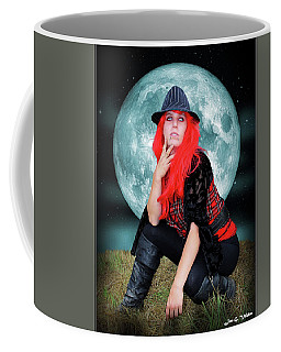 Pixie Under A Blue Moon Coffee Mug