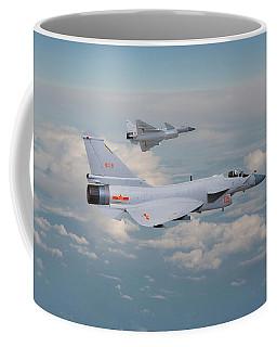 Coffee Mug featuring the photograph Plaaf J10 - Vigorous Dragon by Pat Speirs