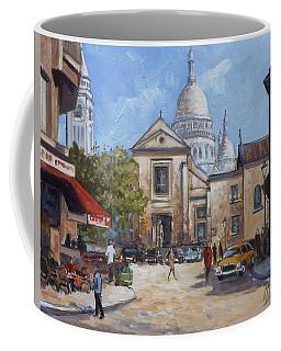 Place Du Tertre, Montmartre Coffee Mug