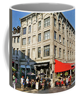 Place Jacques Cartier In Old Montreal Coffee Mug
