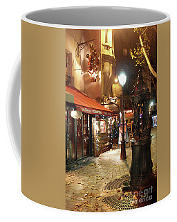 Place St Michel To Rue Saint-andre Des Arts Coffee Mug