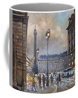 Place Vendome, Paris Coffee Mug by Irek Szelag