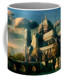 Places Angels Dwell Painted In Bleak Coffee Mug