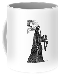 Plague Doctor Coffee Mug