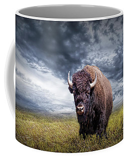 Plains Buffalo On The Prairie Coffee Mug