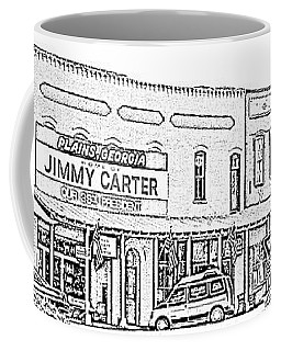 Plains Ga Downtown Coffee Mug