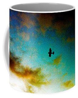 Plane Over Key West Coffee Mug