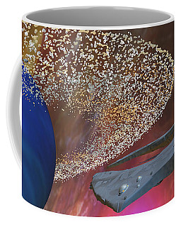 Planet Asteroids Coffee Mug