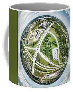 Coffee Mug featuring the photograph Planet Mukwonago by Randy Scherkenbach