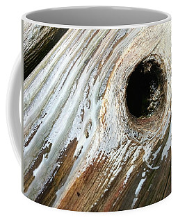 Coffee Mug featuring the photograph Planking The Right Way? by Robert Knight