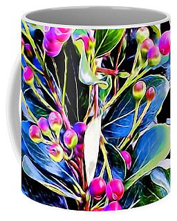 Plant 14 In Abstract Coffee Mug