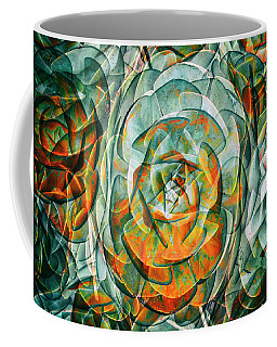 Coffee Mug featuring the photograph Plant Abstract by Wayne Sherriff