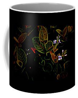 Plants In Abstract 19 Coffee Mug
