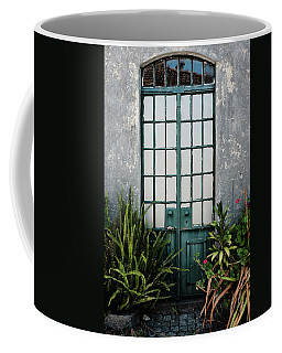 Coffee Mug featuring the photograph Plants In The Doorway by Marco Oliveira