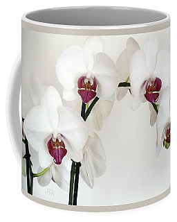 Platnum Beauty Orchids Coffee Mug