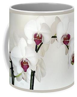 Platnum Beauty Orchids Coffee Mug by Marsha Heiken