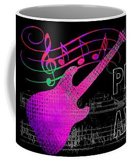 Coffee Mug featuring the digital art Play 5 by Guitar Wacky