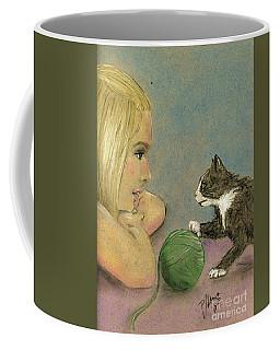 Play Ball Coffee Mug by P J Lewis