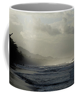 Playa Negra Beach At Sunset In Costa Rica Coffee Mug