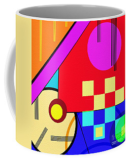 Coffee Mug featuring the digital art Playful by Silvia Ganora