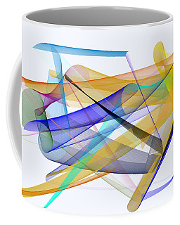 Coffee Mug featuring the digital art Playground by Rafael Salazar