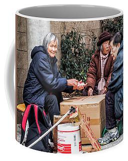 Playing Cards In Chinatown Coffee Mug