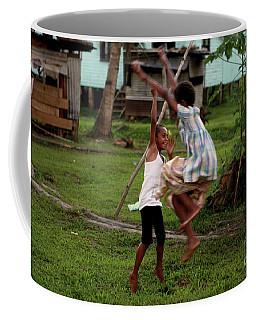 Playing In Fiji Coffee Mug