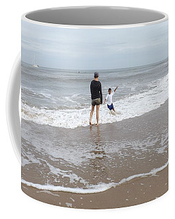 Playing In The Surf Coffee Mug
