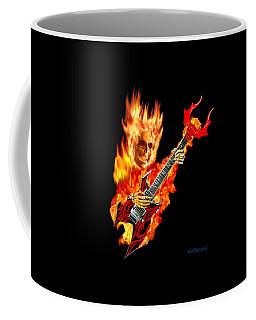 Playing With Hellfire Coffee Mug by Glenn Holbrook