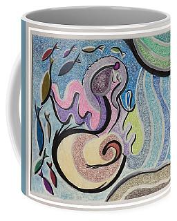Playing With The Seal Coffee Mug