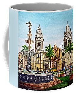 Plaza Armas, Cusco, Peru Coffee Mug