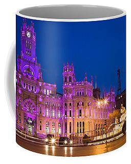 Plaza De Cibeles In Madrid Coffee Mug