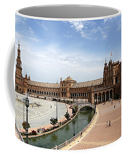Coffee Mug featuring the photograph Plaza De Espana 4 by Andrew Fare