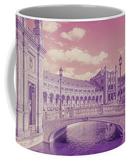 Coffee Mug featuring the photograph Plaza De Espana. Dreamy by Jenny Rainbow