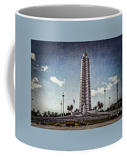 Coffee Mug featuring the photograph Plaza De La Revolucion by Lou Novick