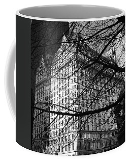 Coffee Mug featuring the photograph Plaza Hotel by Dave Beckerman