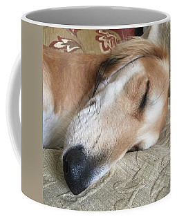 Please Be Quiet. Saluki Coffee Mug