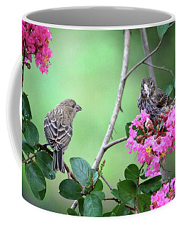 Coffee Mug featuring the photograph Please, May I Have Some? by Trina Ansel