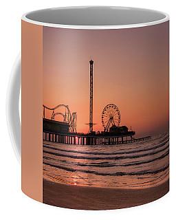 Pleasure Pier At Sunrise Coffee Mug