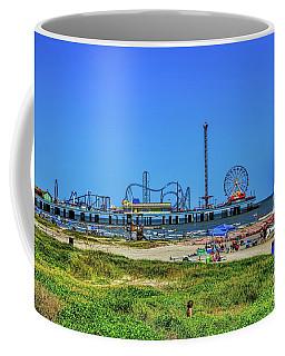 Pleasure Pier Sunny Day Coffee Mug