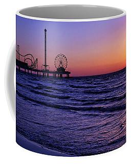 Pleasure Pier Sunrise Coffee Mug